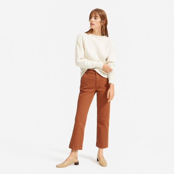 Everlane Wide Leg Crop